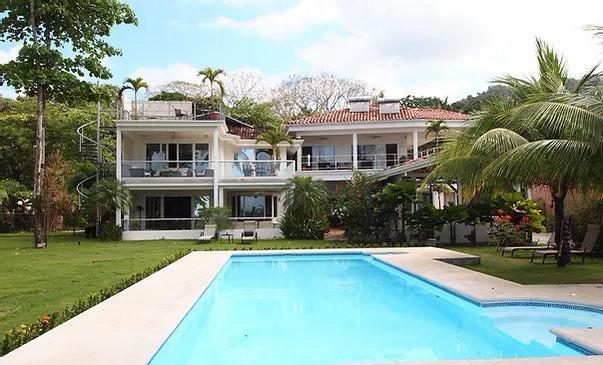 Costa Rica bachelor party rentals and mansions